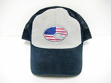 4a92163527ddd Brand New Costa Del Mar USA Flag UNITED TRUCKER Adjustable Mesh Hats - HA  51 N