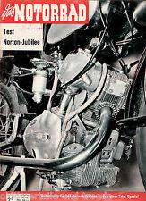 Das Motorrad Heft 25 12.Dezember 1959 Test Norton Jubilee 250ccm Amal-Monoblock