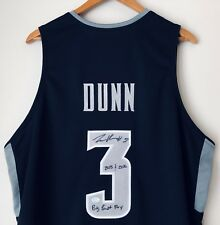 Kris Dunn Signed Providence Friars Autographed Basketball Stat Jersey (Dunn COA)