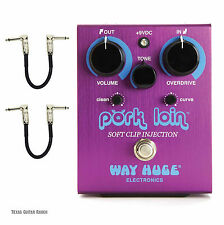 Way Huge Pork Loin Overdrive WHE201 Guitar Effects Pedal Soft Clip Injection 201
