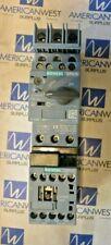 Siemens Manual Combination Motor Controller 3RV2011-1CA15 3RT2015-1AK61  3HP 460