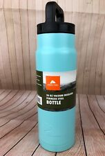 Ozark Trail Blue 24oz Vacuum Insulated Stainless Steel Bottle New Gift