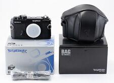 (57) Black Voigtlander Bessa-L Leica SM mount w/strap case box PLS READ