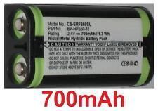 Batterie 700mAh Pour SONY MDR-RF4000, MDR-RF4000K, MDR-RF810, MDR-RF810RK