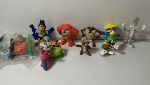 Looney Tunes McDonald's Happy meal toy lot of 9 pieces ~ excellent condition!!!!