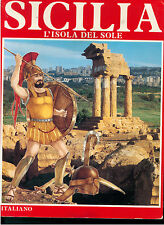 SICILIA L'ISOLA DEL SOLE F.LLI MISTRETTA 1984 GUIDE TURISTICHE LOCALE ARTE