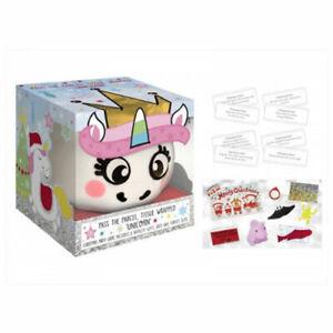 Plush Unicorn Head Purse With Clip Crackers Kids Festive Fun Games