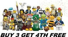 LEGO MINIFIGURES SERIES 10 71001 PICK CHOOSE YOUR OWN + BUY 3 GET 1 FREE