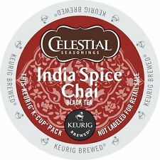 Celestial Seasonings India Spice Chai Tea Keurig K-Cups 24-Count