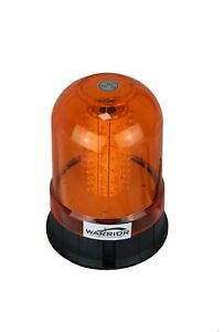 LED Magnetic Mount Tractor Digger Amber Beacon 12V
