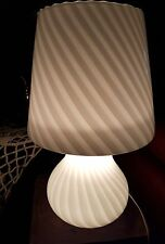 TABLE LAMP MURANO GLASS MUSHROOM DESIGN 70s