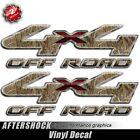 4x4 Truck Sticker Camo Max Grass Hunting Decal Set