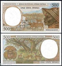 CENTRAL AFRICAN STATES REPUBLIC 500 francs 1999  Pick  301 Ff   SC / UNC