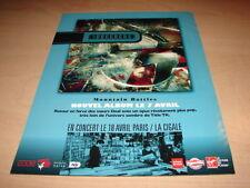 4AD - BREEDERS MOUNTAIN BATTLES!!!!! PUBLICITE / ADVERT