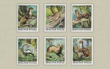 Hungary 1979. Animals set MNH (**) Mi.: 5 EUR