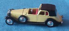 239 J RAMI J.M.K. FRANCE 10A 1934 HISPANO SUIZA J12 COUPE CHAUFFEUR 1/43 Tacot