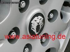Tiger-Kappen für Felgen - Kia Sportage SL (2010 - 2015) Tuning-Zubehör schwarz