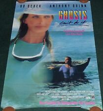 GHOSTS CAN'T DO IT 1980s ORIGINAL VHS ROLLED HOME VIDEO MOVIE POSTER BO DEREK