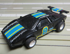 para H0 coche slot racing Maqueta de tren Lamborghini von TYCO + 2 Lijadora /