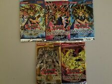 YuGiOh - 5x Sealed Mixed Booster Packs Lot - LOD/MFC/DCR/TLM/FET - Hard to Find
