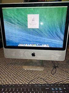 "Apple iMac 20"" 2008 MB323LL/A A1224 C2D 2.4GHz 4GB RAM 250GB HDD Working"