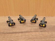 Lego 4x Kanonen Kanone Ritter Castle Piraten Western System Eigenbau
