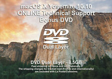 macOS X Yosemite 10.10 - ONLINE Technical Support - Bonus DVD DL