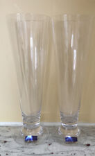 Pair of Pilsner Glasses in Optic Reserve by WATERFORD