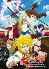DVD Anime The Seven Deadly Sins: Imashime no Fukkatsu Series (1-24) English Sub