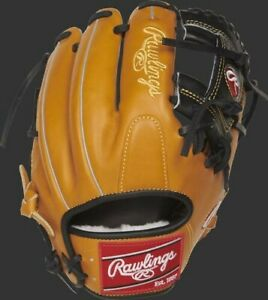 "Rawlings 11.5"" Pro Preferred Tan Infield Glove |PROS204−2RTB"