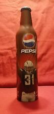 Pepsi Limited Edition 2008 Full Collector's Bottle NFL Antonio Cromartie Charger