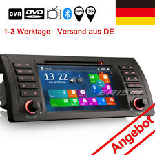 "7"" Autoradio BMW 5er E39 X5 E53 M5 GPS Sat Navi iPod Can Bus DVR/DTV-IN 7161TDE"