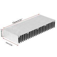 Radiator Aluminum Heatsink Extruded Profile Heat Sink for Electronic Chipset 1PC