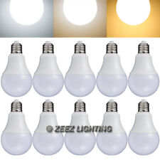 10X LED Light Bulb 12W Daylight Cool White A19 Equivalent 100W Incandescent Lamp