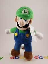 New Super Mario Bros Luigi. Brothers Plush Doll Stuffed Animal Figure Toy 10""