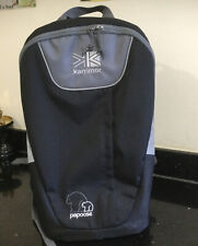 Baby Carrier Backpack By Karrimor Papoose Immaculate Condition Compact Fantastic
