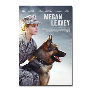 Megan Leavey Poster Art Silk 2017 Movie Kate Mara Poster  13x20 24x36 inch J392