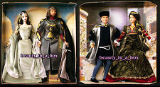 Arwen and Aragorn Barbie Ken Doll Lord of the Rings Romeo Juliet Lot 2 NO BOX