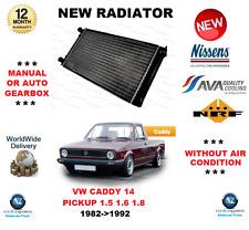 Para VW Caddy 14 Coche 1.5 1.6 1.8 1982- > 1992 Radiador Calidad OE