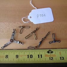 Vintage Antique fishing lure swivels for fishing lures (lot#9752)