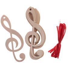 20Pcs Music Symbol,Wooden Cutout Shape, Silhouette, Tags Ornament Laser Cut
