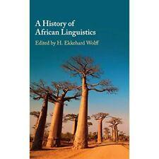 A History African Linguistics Hardcover Cambridge University Press 9781108417976