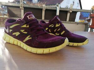 Nike free run 2.0 Sneakers jogging Trainer winered US 10.5