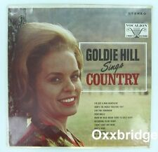 SEALED GOLDIE HILL Sings Country ORIGINAL Vocalion HONKY TONK Nashville VINYL LP