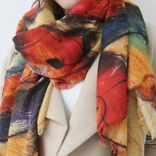 Mode Scarf Kaschmirwolle Schals Groß Lange Schals Winter Warm Bunt Halstuch Tuch