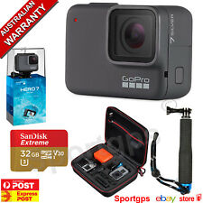 GoPro HERO7 SILVER **PLATINUM BUNDLE ** SANDISK 32GB EXTREME,POLE, CARRY CASE