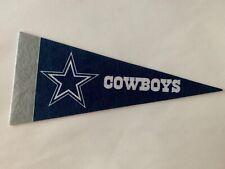"NFL Dallas Cowboys Mini Pennant Flag 4""x9"" NEW Football Decor"