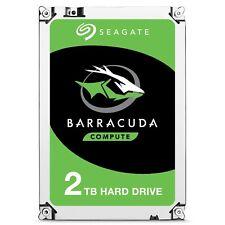 Seagate BarraCuda (2TB) 3.5 Inch SATA Internal Hard Disk Drive *Open Box*