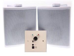 NUVO WA40 / NUVO WA30  SPEAKERS WITH WALL PLAT BLUETOOTH AMPLIFIER NEW