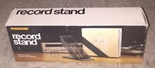 DYNASOUND RECORD STAND Smoke Plexiglass 30 LP rack mid century modern in box